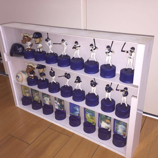 イチロー ペプシ ボトルキャップ 全26種類 シアトルマリナーズ ケース付き_画像4