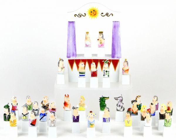 マイセン 人形 フィギュア フィギュリン 現代アート Kasperletheater カスパーシアター 総36点 大規模セット 希少 高額作品 レア_画像1