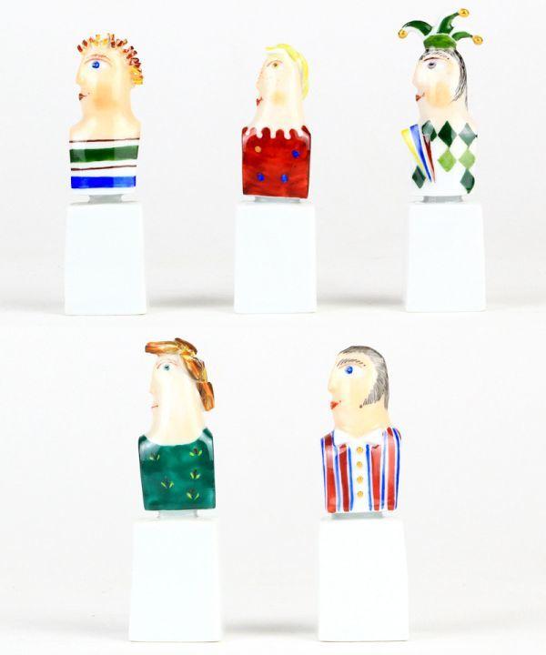 マイセン 人形 フィギュア フィギュリン 現代アート Kasperletheater カスパーシアター 総36点 大規模セット 希少 高額作品 レア_画像3