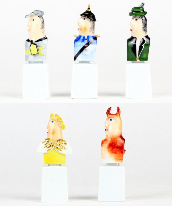 マイセン 人形 フィギュア フィギュリン 現代アート Kasperletheater カスパーシアター 総36点 大規模セット 希少 高額作品 レア_画像6