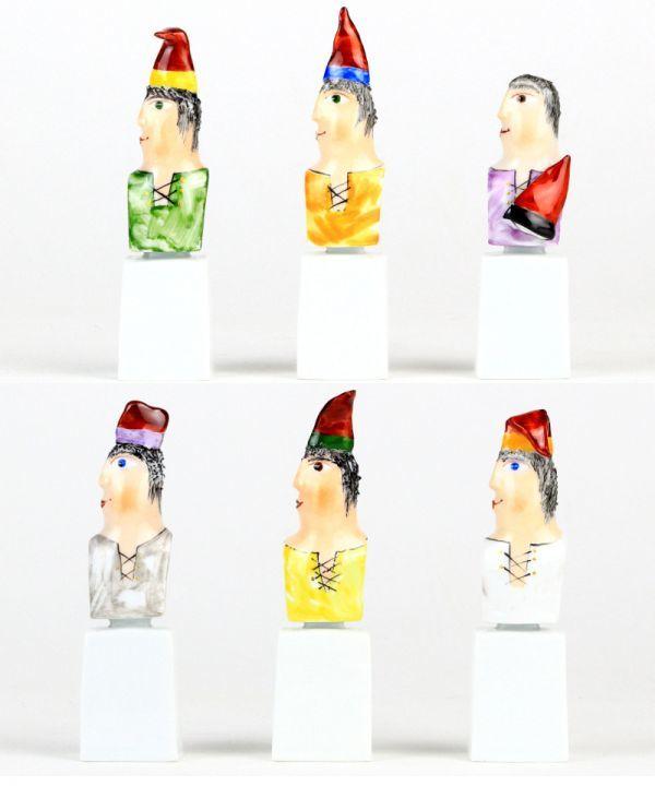 マイセン 人形 フィギュア フィギュリン 現代アート Kasperletheater カスパーシアター 総36点 大規模セット 希少 高額作品 レア_画像8