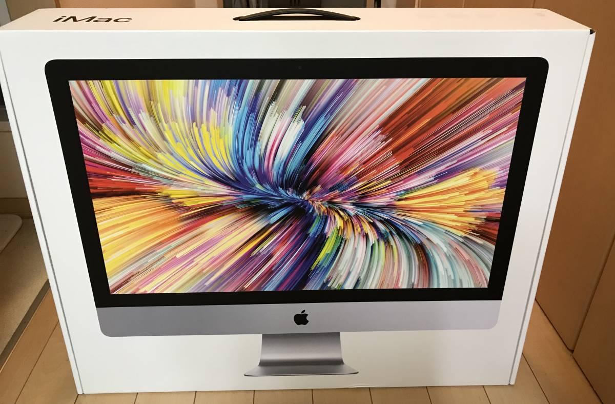【美品・送料無料】iMac (Retina 5K, 27-inch, 2017) Intel Core i7 4.2 GHz メモリ32GB HDD 2TB_画像3