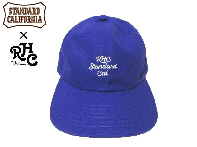 川崎オープン限定 新品 RHC ロンハーマン Ron Herman × STANDARD CALIFORNIA スタンダードカリフォルニア コラボ キャップ 帽子 F_画像1