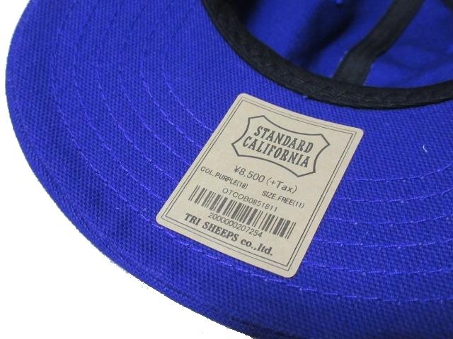 川崎オープン限定 新品 RHC ロンハーマン Ron Herman × STANDARD CALIFORNIA スタンダードカリフォルニア コラボ キャップ 帽子 F_画像4