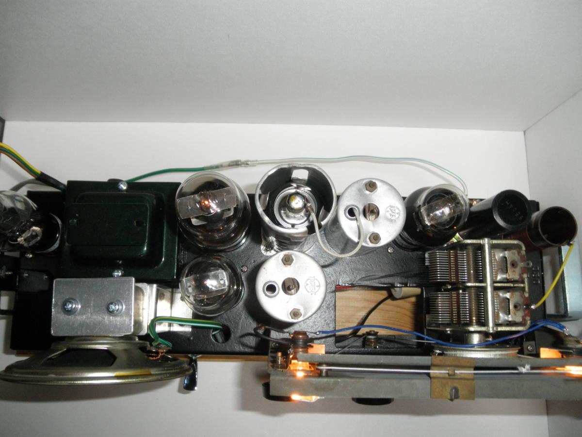 ジャンクで作った 真空管ラジオ・横長の5球スーパーヘテロダイン_画像5