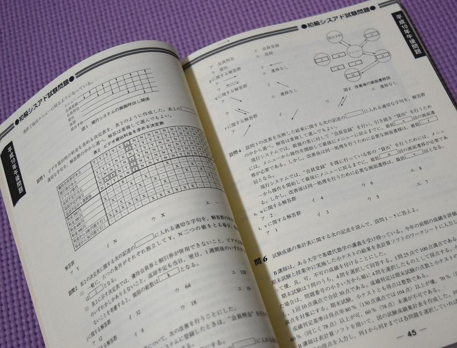 99春 初級シスアド 完全解答 シスアド塾編集部編 平成6~10年問題集_画像2
