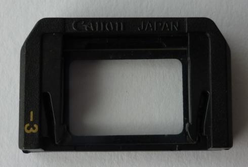 即決美品 キヤノン 視度補正レンズ -3 近視用 アイピース Canon A-1 AE-1 FTb  定形外 クリックポスト可(593)_画像2