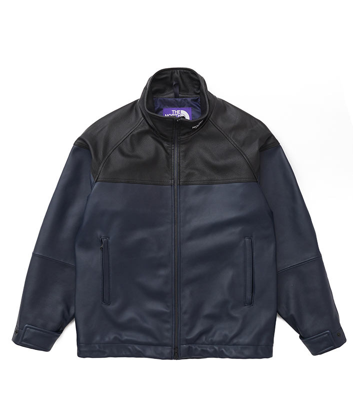 nanamica/THE NORTH FACE PURPLE LABEL Field Leather Jacket NP2900N DN(ダークネイビー)/L 新品未使用 正規品 完売店続出! ※タグ付_画像1