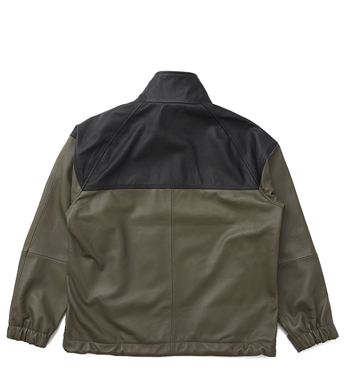 nanamica/THE NORTH FACE PURPLE LABEL Field Leather Jacket NP2900N DN(ダークネイビー)/L 新品未使用 正規品 完売店続出! ※タグ付_画像2