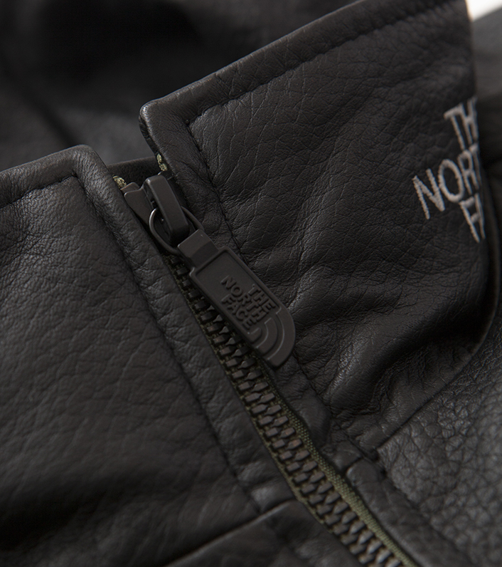 nanamica/THE NORTH FACE PURPLE LABEL Field Leather Jacket NP2900N DN(ダークネイビー)/L 新品未使用 正規品 完売店続出! ※タグ付_画像5