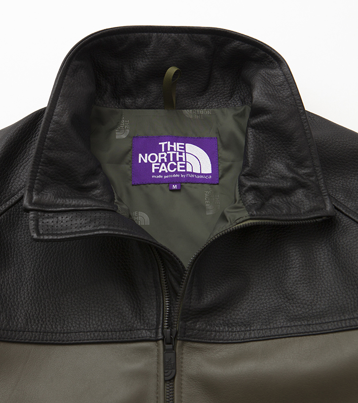 nanamica/THE NORTH FACE PURPLE LABEL Field Leather Jacket NP2900N DN(ダークネイビー)/L 新品未使用 正規品 完売店続出! ※タグ付_画像6