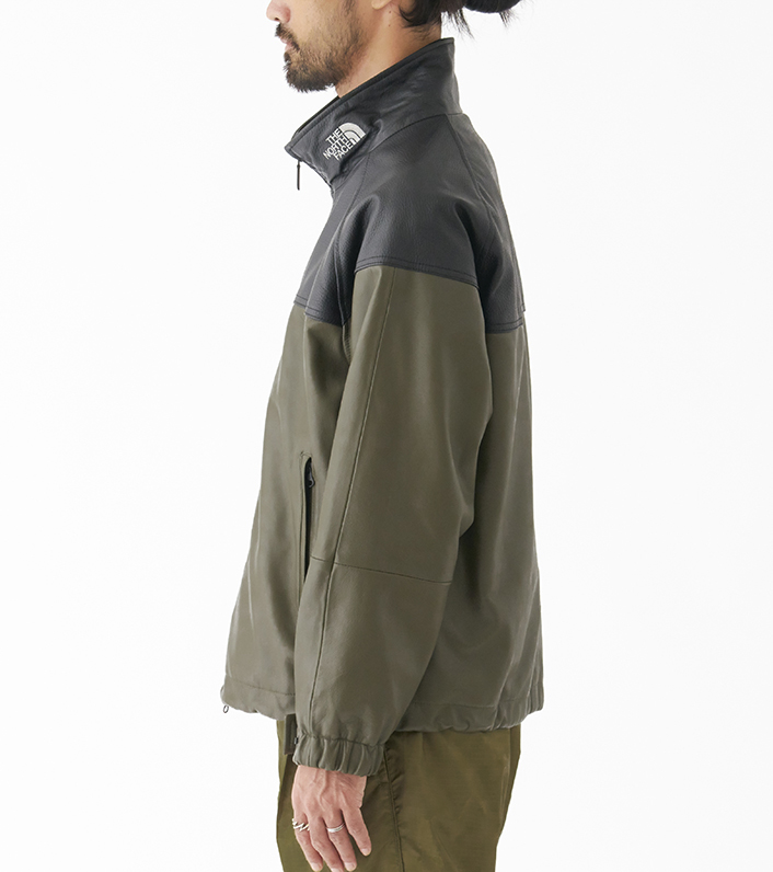 nanamica/THE NORTH FACE PURPLE LABEL Field Leather Jacket NP2900N DN(ダークネイビー)/L 新品未使用 正規品 完売店続出! ※タグ付_画像9