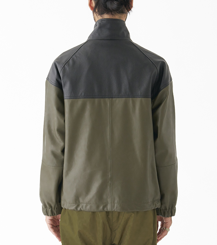 nanamica/THE NORTH FACE PURPLE LABEL Field Leather Jacket NP2900N DN(ダークネイビー)/L 新品未使用 正規品 完売店続出! ※タグ付_画像10