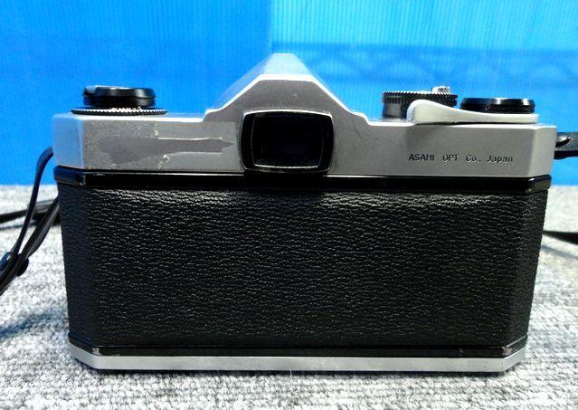 【YU564】ASAHI アサヒ PENTAX ペンタックス フィルム一眼レフカメラ SPOTMATIC SP TAKUMAR F3.5/35mm マニュアルフォーカス レトロ 写真 _画像3