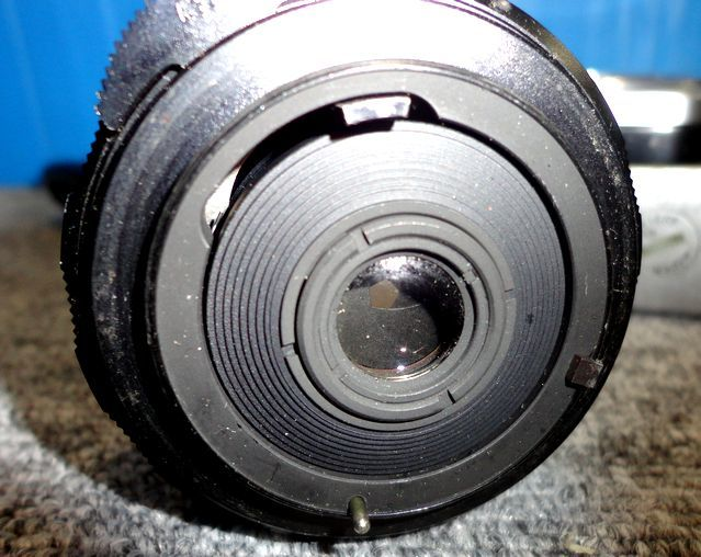 【YU564】ASAHI アサヒ PENTAX ペンタックス フィルム一眼レフカメラ SPOTMATIC SP TAKUMAR F3.5/35mm マニュアルフォーカス レトロ 写真 _画像7
