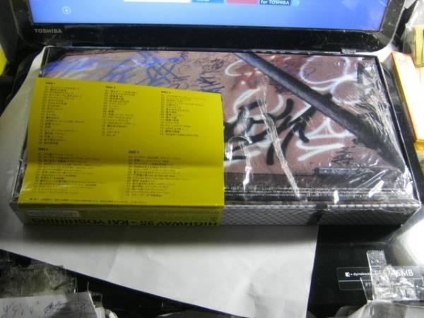 甲斐よしひろ / HIGHWAY 25 ステッカー帯5CD+CDSボックス KAI BAND_画像2