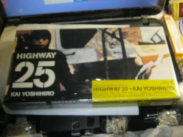 甲斐よしひろ / HIGHWAY 25 ステッカー帯5CD+CDSボックス KAI BAND_画像1