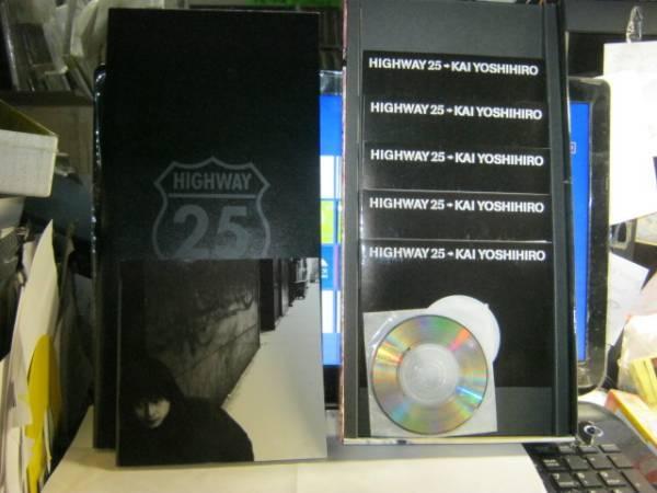 甲斐よしひろ / HIGHWAY 25 ステッカー帯5CD+CDSボックス KAI BAND_画像3
