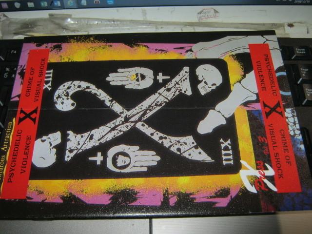 X エックス / X Press Vol.3 FC会報 X JAPAN YOSHIKI HIDE TOSH TAIJI PATA_画像1