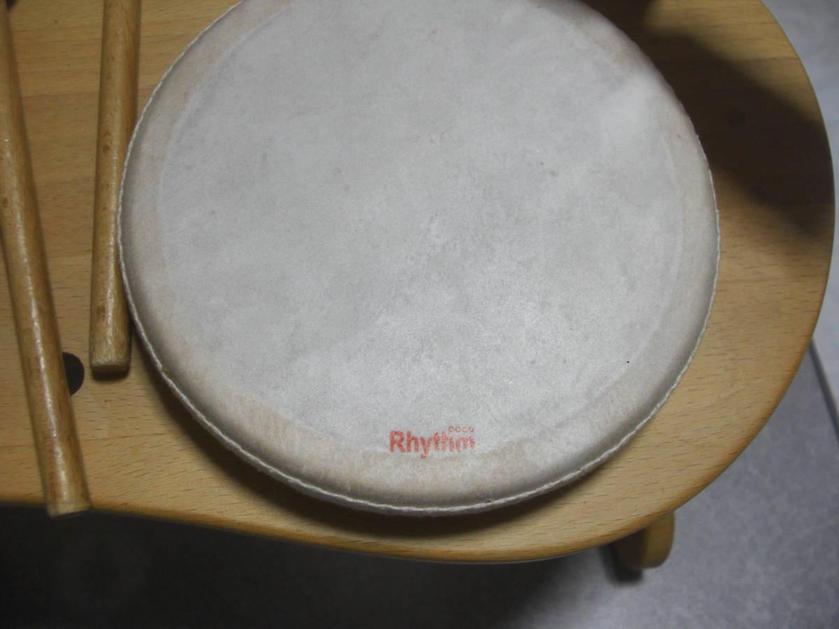 中古 ☆Rhythm poco リズムポコ ドラムセット☆ ゆうパックおてがる版100_画像4