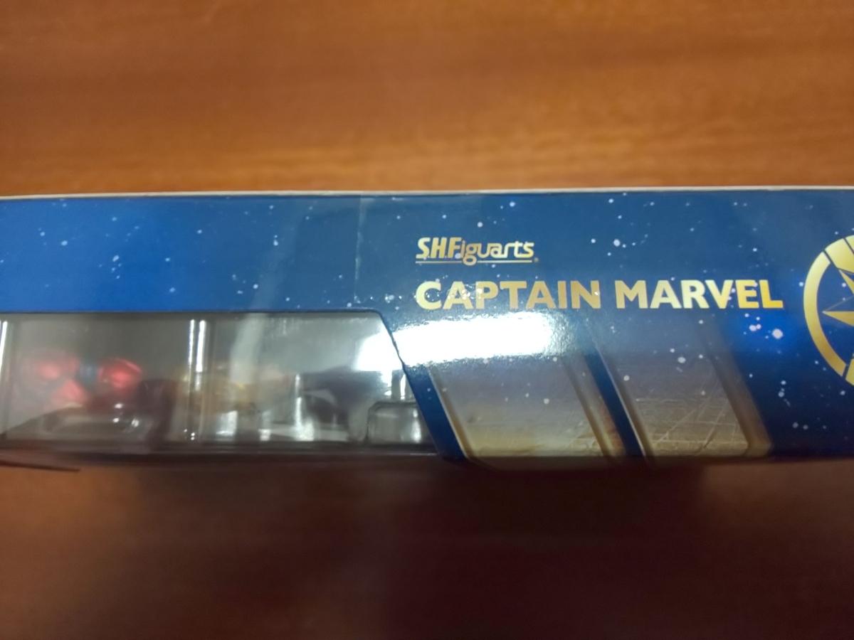 S.H.フィギュアーツ(新品未開封)キャプテン・マーベル_画像2