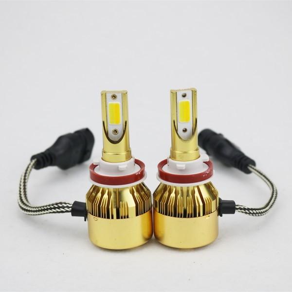 スイッチ ONOFF 走行中 2色切替 H4 H8 H9 H11 H16 対応バルブ LEDヘッドライト フォグランプ 10800ルーメン_画像3