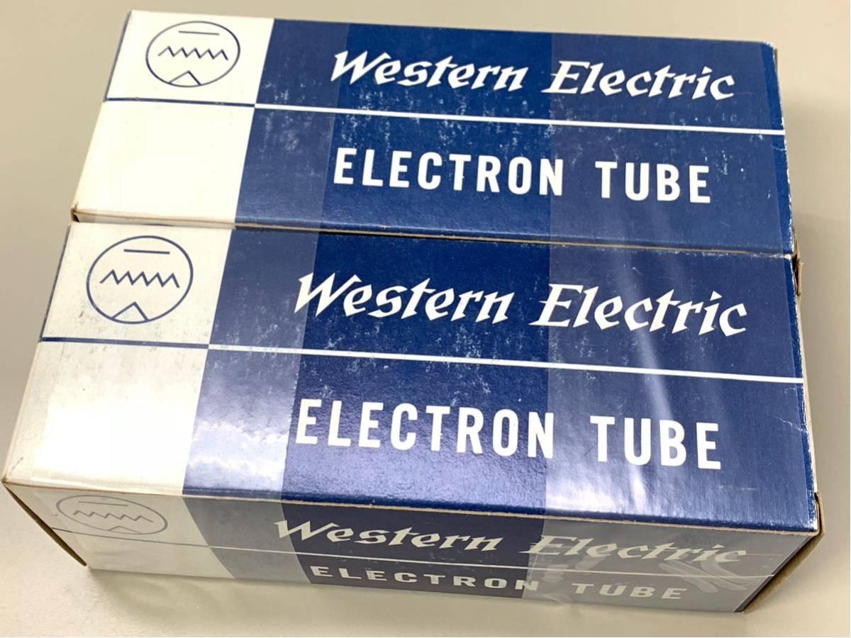 [▲ジャンク扱い 真空管2個 綺麗]Western Electric 300B_画像1