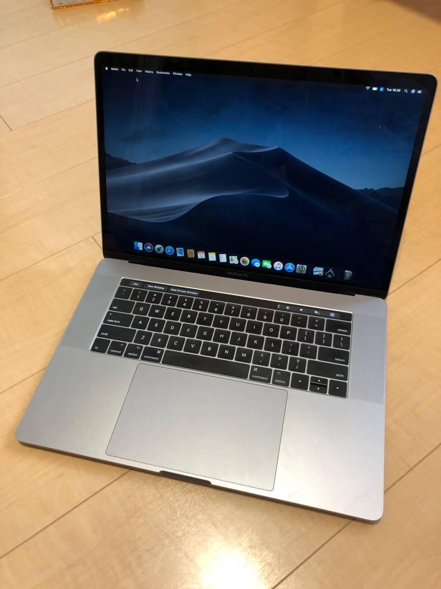 【約1年使用】MacBook Pro (15-inch, 2017) Touch Bar USキーボード 保証 2019/4/28まで