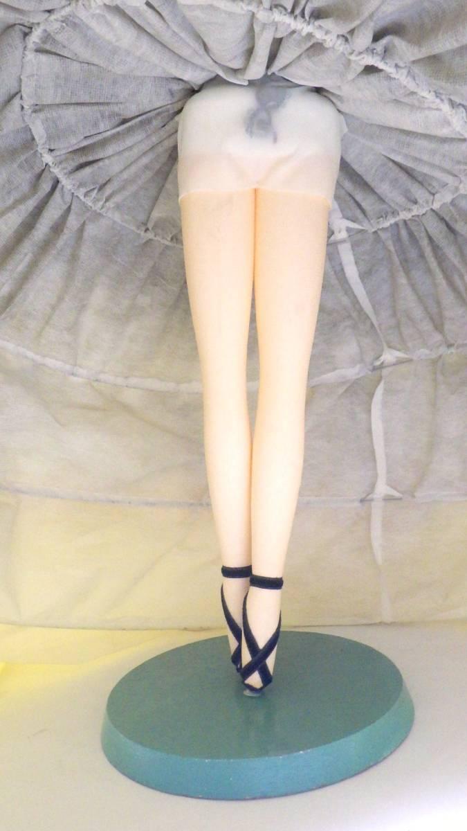 ☆レア☆希少☆美少女 美女 乙女 ビロード 天鵞絨 ポーズ人形 木台 リボン SUKIYO スキヨ人形研究所 タグ付き 昭和レトロ_画像7