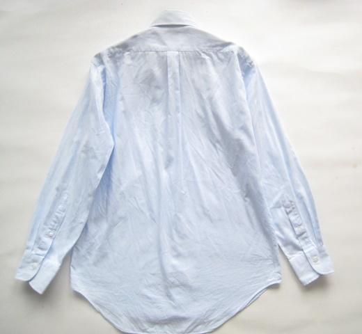 高級!!Maker's Shirt 鎌倉 鎌倉シャツ*400 MADISON SLIM FIT ボタンダウンシャツ 39-80 実寸M_画像6