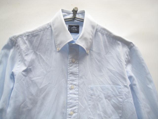 高級!!Maker's Shirt 鎌倉 鎌倉シャツ*400 MADISON SLIM FIT ボタンダウンシャツ 39-80 実寸M_画像2