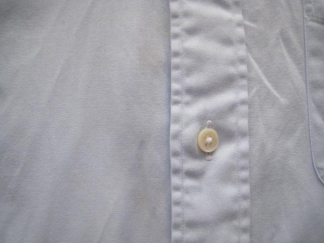 高級!!Maker's Shirt 鎌倉 鎌倉シャツ*400 MADISON SLIM FIT ボタンダウンシャツ 39-80 実寸M_画像3