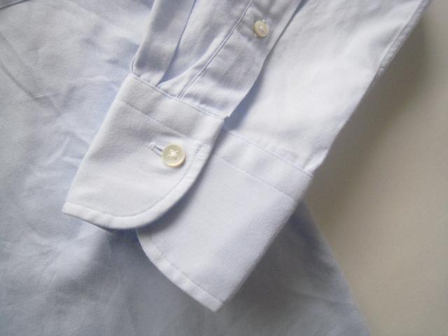高級!!Maker's Shirt 鎌倉 鎌倉シャツ*400 MADISON SLIM FIT ボタンダウンシャツ 39-80 実寸M_画像5