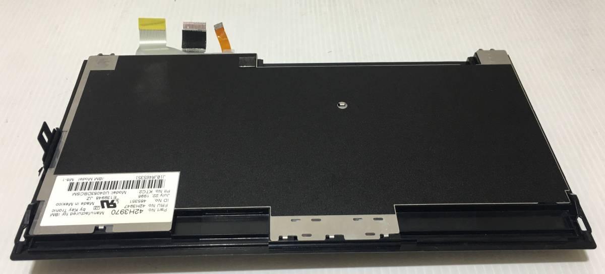 送料無料!★1000円売切り!IBM ThinkPad 365XD/X用?トラックポイント付きキーボード!テカリ無く美品!動作未確認のためジャンクにて!★_画像3