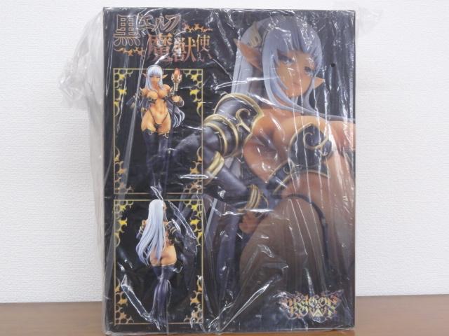【未開封品】ドラゴンズクラウン 黒エルフの魔獣使い Q-SIX_画像2