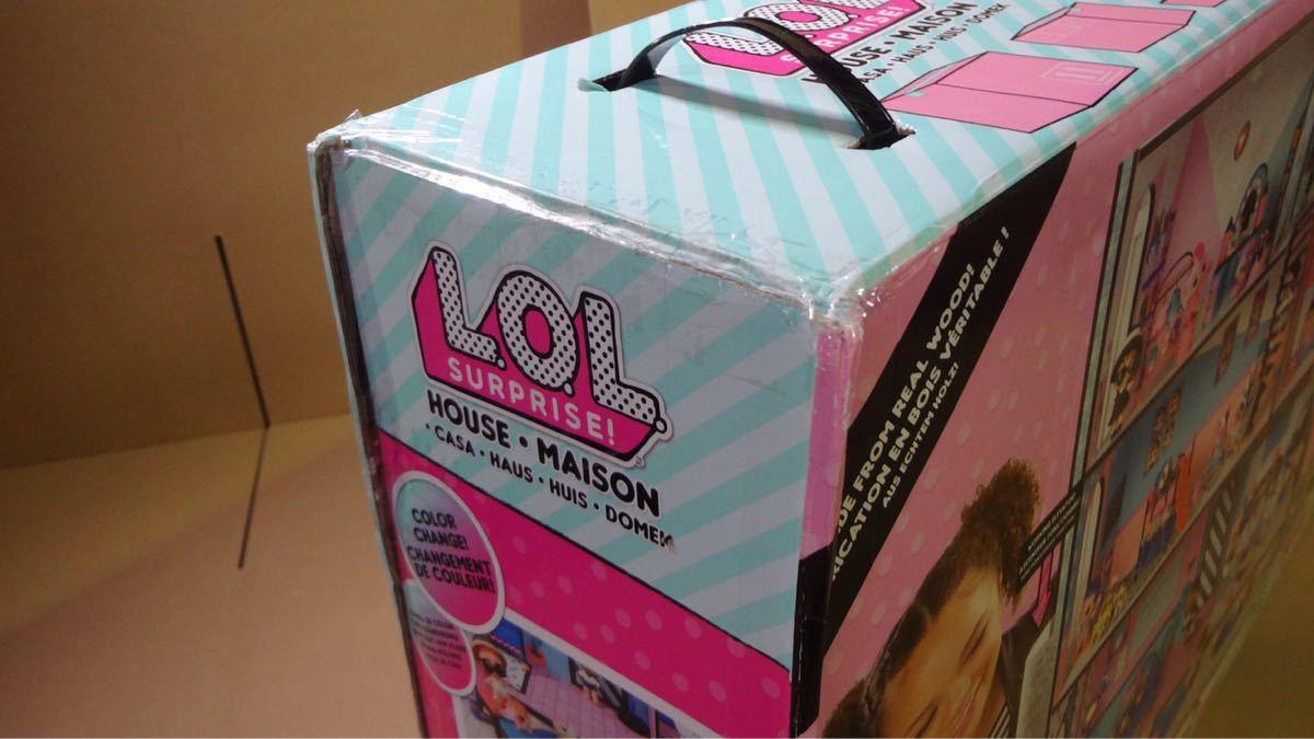 【送料無料】L.O.L.サプライズ!サプライズ!いっぱいドールハウス LOL Surprise [並行輸入品]_画像4