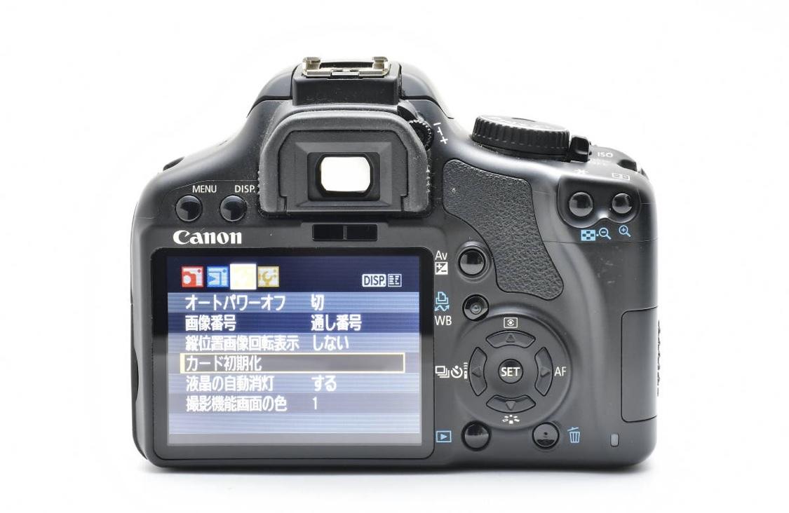 キャノン 一眼レフEOS Kiss Digital X2 +EF-S 18-55mm F3.5-5.6 II USM_画像2