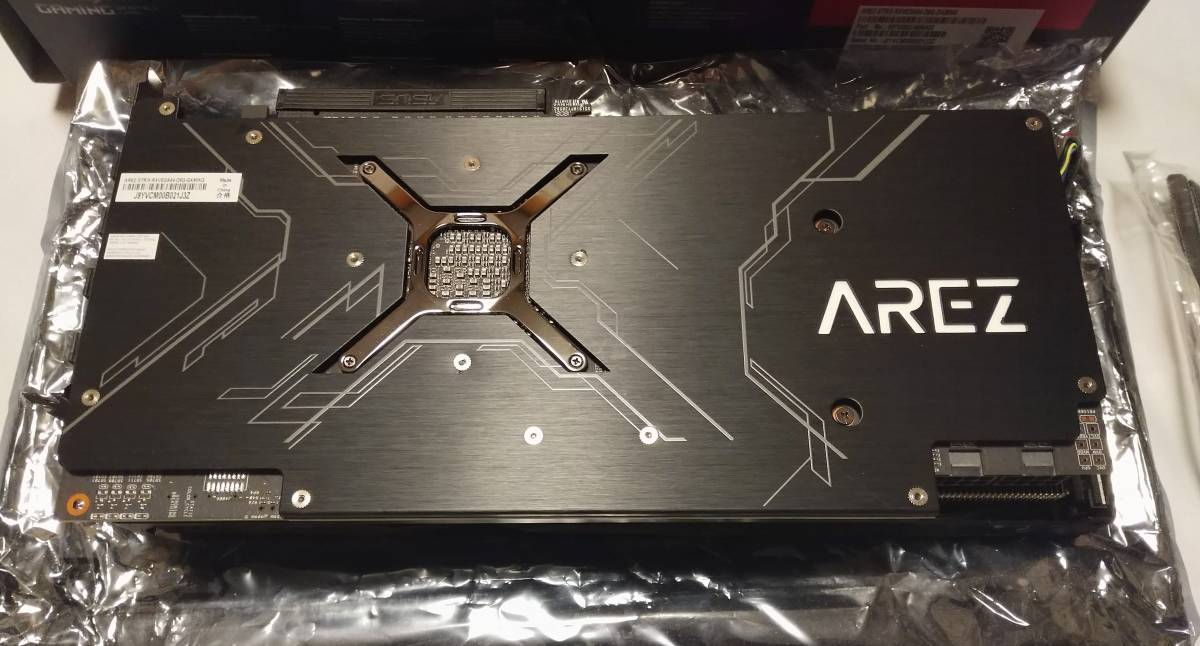 ASUS AREZ STRIX VEGA 64 HBM 8GB 中古 国内未発売のレア品 動作確認済_画像2