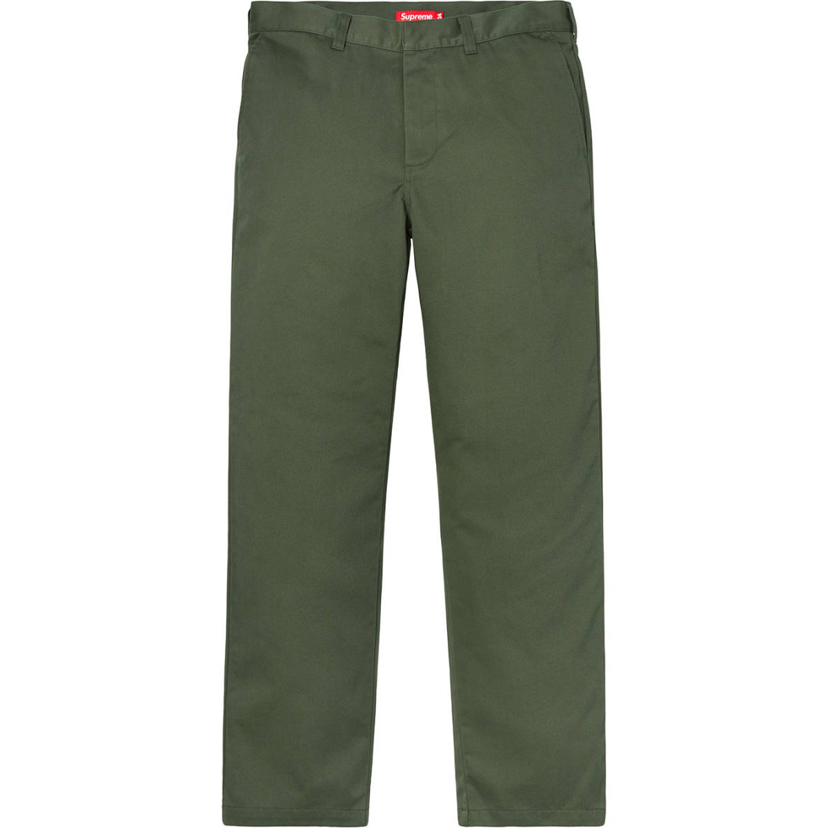 7c92cc17c59e 18 autumn winter Supreme Work Pant Green 32 new goods unused green 18FW work  pants