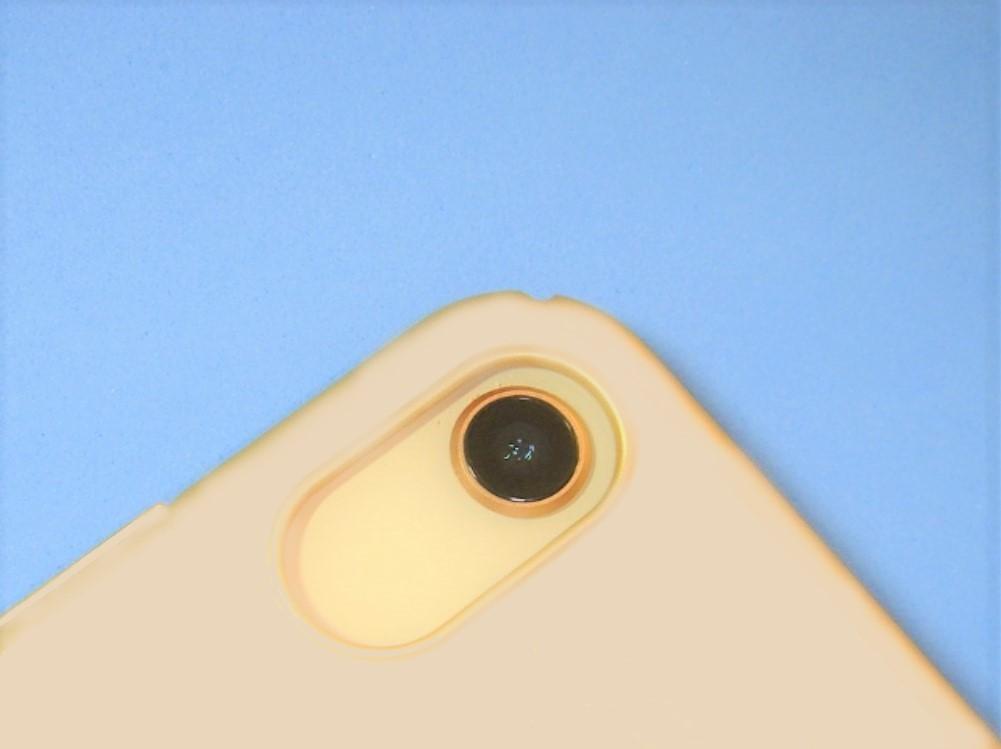 【PoliceGoods】★警察帽章マーク入【iPhoneX用「リンク&スタンド」ハードカバー】ピンクカラー【新品未使用品】★_※ iPhoneX用(ハードカバー)のカメラ部分