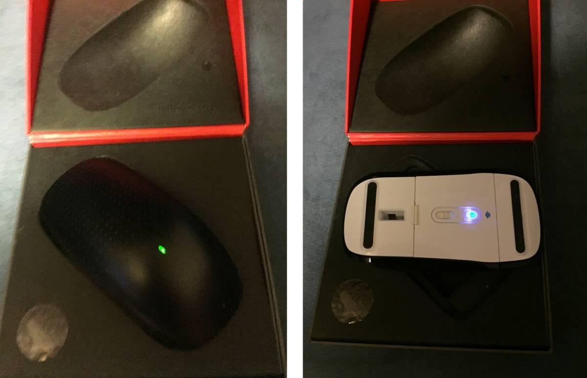 ★Microsoft Touch Mouse マイクロソフト タッチマウス 中古 ブラック ジェスチャー操作★_画像2