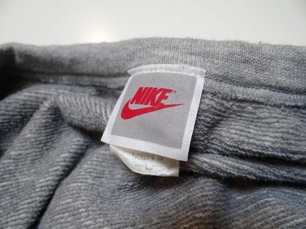 80年代 ビンテージ 日本製 NIKE ナイキ ノースリーブ スウエット 霜降り Lサイズ レトロ 当時物_画像4