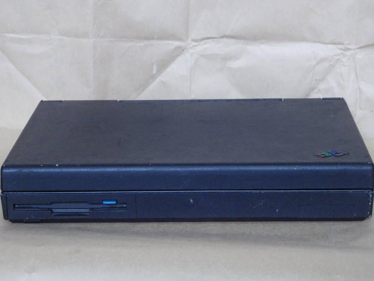 IBMの古いノートパソコン 755C ジャンクです。 _画像2