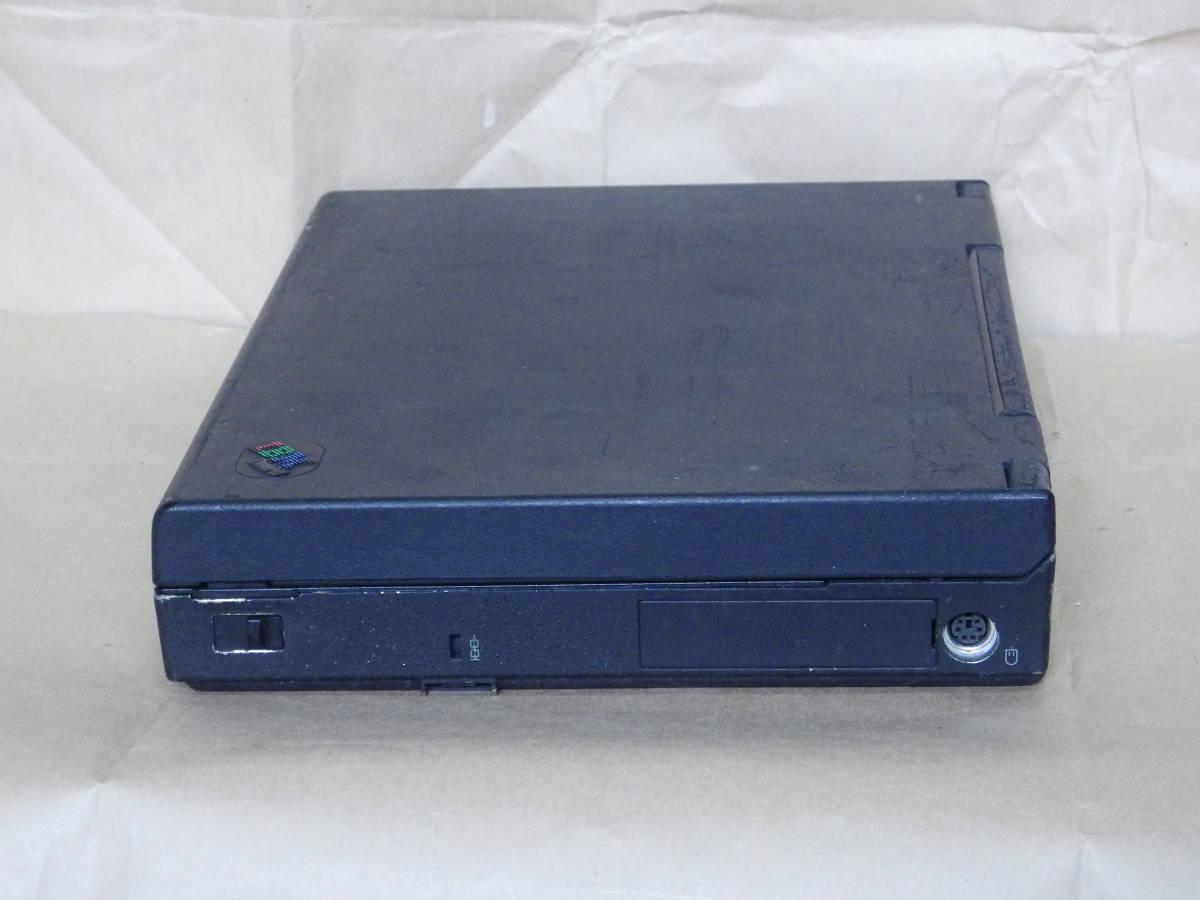 IBMの古いノートパソコン 755C ジャンクです。 _画像3