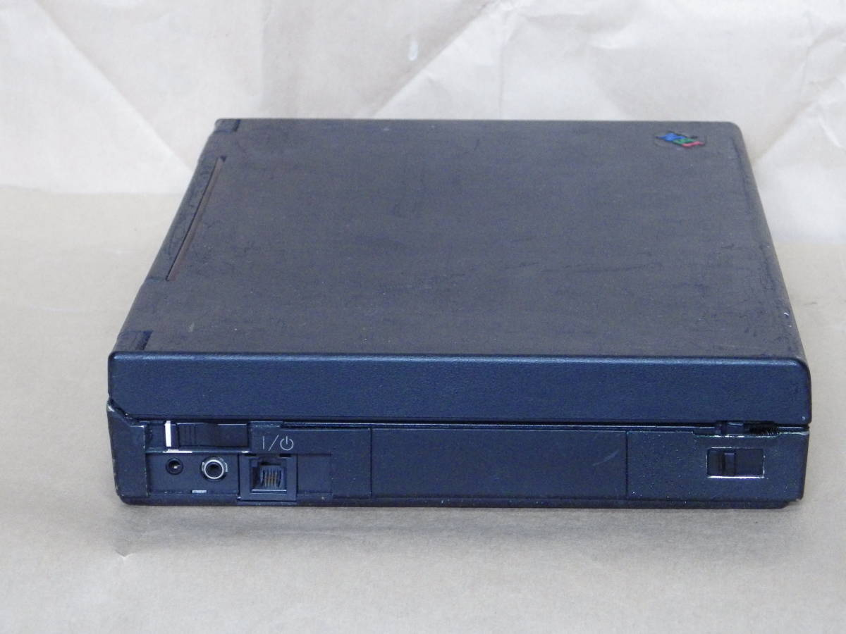 IBMの古いノートパソコン 755C ジャンクです。 _画像5