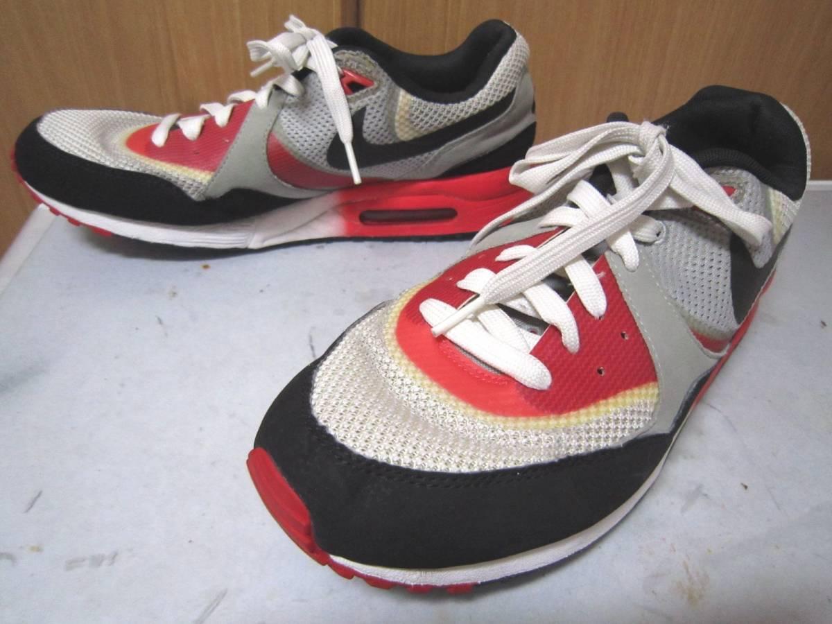 ナイキ エアマックス ライト C 1.0(631758-006)灰黒白赤 28cm US10    Nike Air Max Light C1.0  2013年製  ai1903d