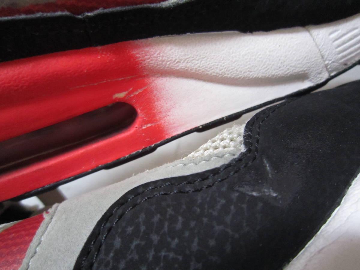 ナイキ エアマックス ライト C 1.0(631758-006)灰黒白赤 28cm US10    Nike Air Max Light C1.0  2013年製  ai1903d_画像9