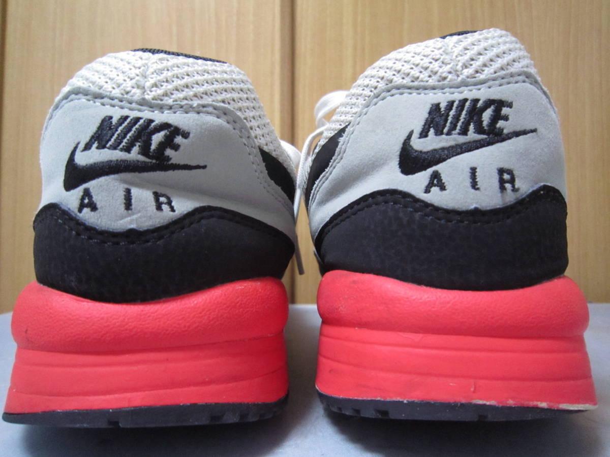 ナイキ エアマックス ライト C 1.0(631758-006)灰黒白赤 28cm US10    Nike Air Max Light C1.0  2013年製  ai1903d_画像6