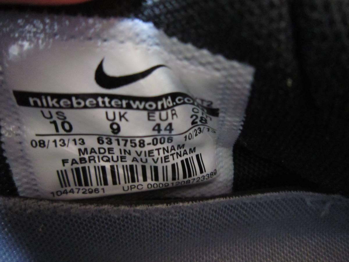 ナイキ エアマックス ライト C 1.0(631758-006)灰黒白赤 28cm US10    Nike Air Max Light C1.0  2013年製  ai1903d_画像10