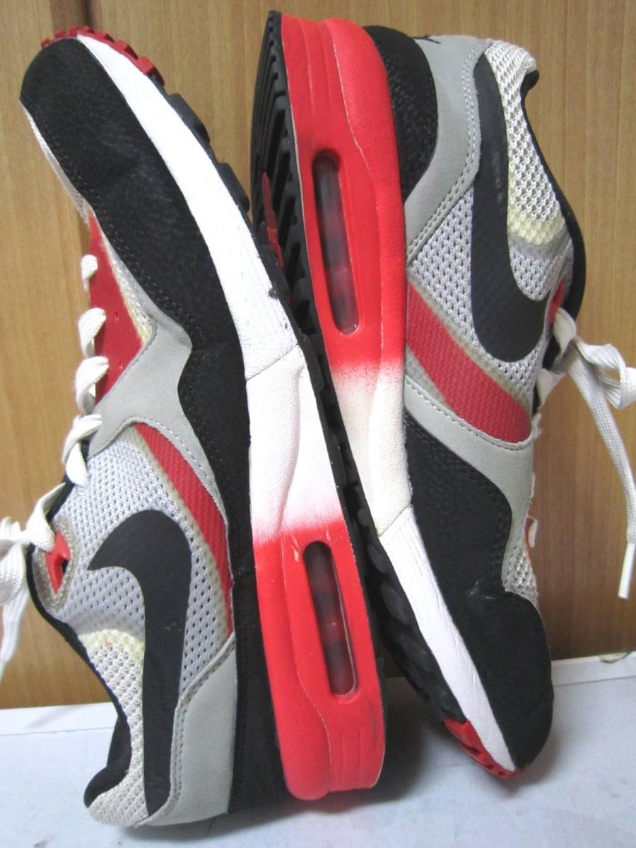 ナイキ エアマックス ライト C 1.0(631758-006)灰黒白赤 28cm US10    Nike Air Max Light C1.0  2013年製  ai1903d_画像2